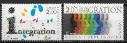 Bosnie Herzeg Bosna 2006 N° 149/150 Neufs Europa L'intégration - 2006