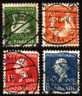 Denmark 1935 Mi 222_227 Hans Andersen's Fairy Tales (1) - Used Stamps