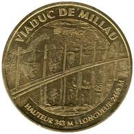 12-0713 - JETON TOURISTIQUE MDP - Viaduc De Millau  - Eiffage - 2016.1 - 2016