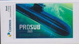 BRAZIL, 2020, MNH, SUBMARINES ,1v - Submarines