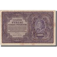 Billet, Pologne, 1000 Marek, 1919, 1919-08-23, KM:29, TTB - Poland