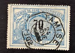 TR23 - Gestempeld TELEGRAAFSTEMPEL TAMISE - 1895-1913