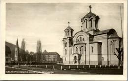 9881 - Slowenien - Celje , Pravoslavna Cerkev In Gimnazija - Gelaufen 1941 - Slovenia