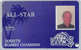 Palms Casino Las Vegas NV - Slot Card - Cartes De Casino