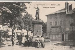 15 AURILLAC  Statue De La Republique - Aurillac