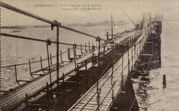 Zeebrugge  Pont Suspendu Sur La Brèche - Zeebrugge