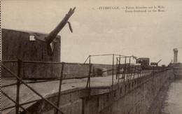Zeebrugge  Canon Détruit Sur Le Môle, - Zeebrugge