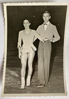 Photo De Sport. Championnat De Patinage Artistique. Figure De Patinage. Duo. Francis Gamichon Et Brigitte Martin. - Deportes