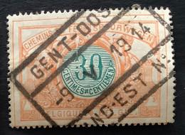 TR32 - Gestempeld GENT-OOST GAND-EST - 1895-1913