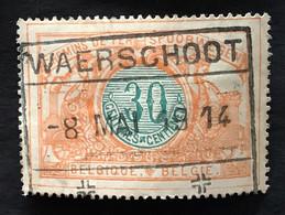 TR32 - Gestempeld WAERSCHOOT - 1895-1913