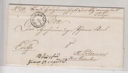 CROATIA AUSTRIA 1853 POZEG POZEGA  Nice Cover To Paternion - Croacia