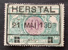 TR34 - Gestempeld HERSTAL - 1895-1913