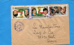 Marcophilie-TCHAD-lettre >Françe Cad-Mao-1987 -Thematics-3- Stamps-N°339 Foot Espagne 82+443 Durer Tableaux - Chad (1960-...)