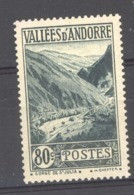 Andorre  :  Yv  72  ** - Unused Stamps