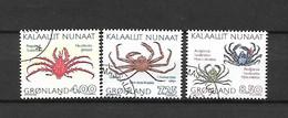 GROENLANDIA - 1993 - N. 219/21 (meno 220A) USATI (CATALOGO UNIFICATO) - Gebraucht
