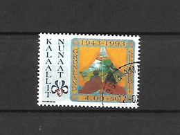 GROENLANDIA - 1993 - N. 225 USATO (CATALOGO UNIFICATO) - Gebraucht
