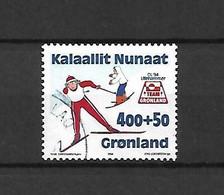 GROENLANDIA - 1994 - N. 231 USATO (CATALOGO UNIFICATO) - Gebraucht