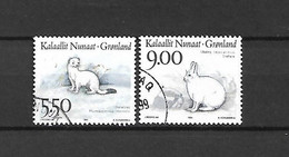 GROENLANDIA - 1994 - N. 237 - N. 239 USATI (CATALOGO UNIFICATO) - Gebraucht