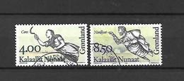 GROENLANDIA - 1994 - N. 240/41 USATI (CATALOGO UNIFICATO) - Gebraucht