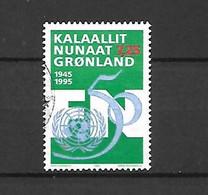 GROENLANDIA - 1995 - N. 247 USATO (CATALOGO UNIFICATO) - Gebraucht