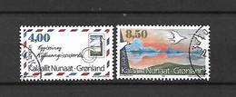 GROENLANDIA - 1995 - N. 250/51 USATI (CATALOGO UNIFICATO) - Gebraucht