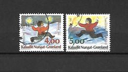GROENLANDIA - 1995 - N. 267/68 USATI (CATALOGO UNIFICATO) - Gebraucht