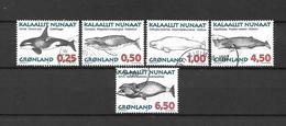 GROENLANDIA - 1996 - N. 275/79 USATI (CATALOGO UNIFICATO) - Gebraucht