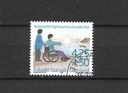 GROENLANDIA - 1996 - N. 284 USATO (CATALOGO UNIFICATO) - Gebraucht