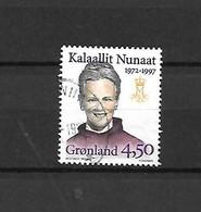 GROENLANDIA - 1997 - N. 288A USATO (CATALOGO UNIFICATO) - Gebraucht