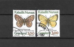 GROENLANDIA - 1997 - N. 289A/90A USATI (CATALOGO UNIFICATO) - Gebraucht