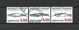 GROENLANDIA - 1997 - N. 293 - N. 295 - N. 296 USATI (CATALOGO UNIFICATO) - Gebraucht
