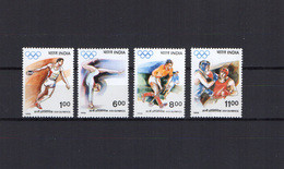 India 1992 Olympic Games Barcelona, Hockey, Boxing Etc. Set Of 4 MNH - Verano 1992: Barcelona