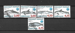 GROENLANDIA - 1998 - N. 304/09 USATI (CATALOGO UNIFICATO) - Gebraucht