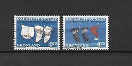 GROENLANDIA - 1998 - N. 317A/18A USATI (CATALOGO UNIFICATO) - Gebraucht