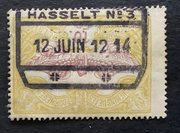 TR47 - Gestempeld HASSELT NR 3 - 1895-1913