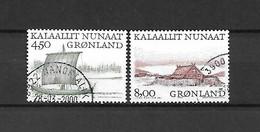 GROENLANDIA - 1999 - N. 327 - N. 330 USATI (CATALOGO UNIFICATO) - Gebraucht