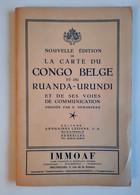 Landkaart Belgisch Congo - Other