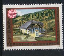 Austria - Oostenrijk 1990 Europa Postal Buildings Y.T. 1817  ** - 1981-90 Nuevos & Fijasellos
