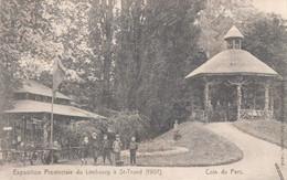 Sint-Truiden Exposition Provinciale Du Limbourg à Saint-Trond (1907) Coin Du Parc (envoyé à Mont Saint André ) - Sint-Truiden