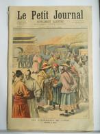 Le Petit Journal N°195 – 13 Aout 1894 – Corée Chine Japon - Evénement - 1850 - 1899