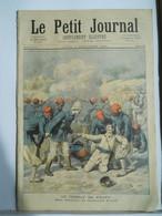 Le Petit Journal N°198 – 3 Septembre 1894 – Compbar De S'NAPA Haut Niger- Carte De Corée Et Japon – Braconnier - 1850 - 1899