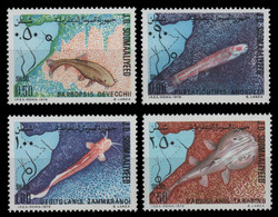 Somalia 1979 - Mi-Nr. 288-291 ** - MNH - Fische / Fish - Somalia (1960-...)