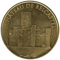 12-2337 - JETON TOURISTIQUE MDP - Château De Belcastel - Versant Ouest - 2016.1 - 2016