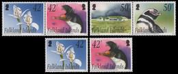 Falkland 2004 - Mi-Nr. 911-914 I & II ** - MNH - Flora & Fauna - Falkland