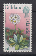 "Falkland Islands, Heijtz 161v2, MNH ""Pink Flaw On Crown"" Variety - Falkland"