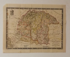 Map Greater Hungary / Nagy Magyar állam - 1836 - Geographical Maps