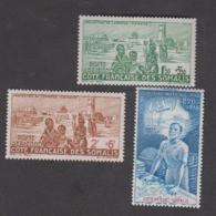 Colonies Françaises -Timbres Neufs ** Côte Française Des Somalis - PA N°8 à 10 - Neufs