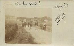CARTE PHOTO AU BOIS LAINE AFFRANCHI DE NANCY 1905 - To Identify