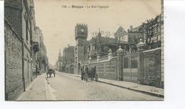 CPA - DIEPPE - La Rue Sygogne - N°716 - Dos Vierge - Dieppe
