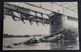 Les Ponts De Cé -  Catastrophe Du 4 Aout 1907 - Les Ponts De Ce